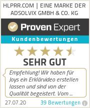 Erfahrungen & Bewertungen zu HLPRR.COM | EINE MARKE DER ADSOLVIX GMBH & CO. KG